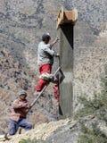 Nepalesiska arbetare Arkivbilder