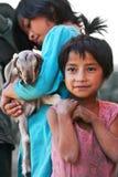 Nepalesiska flickor Royaltyfri Foto