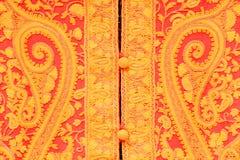 Nepalesiskt nationellt tyg Arkivfoto