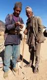 Nepalesiskt vem danandeull vid primitiv metod Royaltyfri Foto