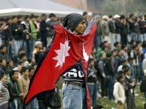 nepali του Νεπάλ αντιστοιχιών τ& στοκ φωτογραφία