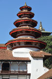 Nepali architecture in the Royal Palace, Kathmandu Royalty Free Stock Photos