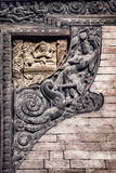 Nepali Carvings Lizenzfreies Stockfoto