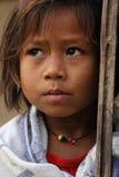 A Nepali Girl in Chitwan Royalty Free Stock Photos