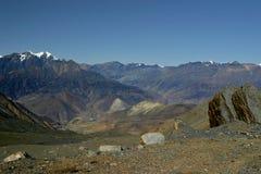 Nepali highlands. Thorong La pass, Annapurna, Nepal Stock Images