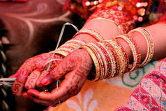 Nepali Hindu wedding rituals Royalty Free Stock Image