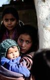 Nepali-Kinder stockbild