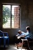 Nepali-Kinder lizenzfreie stockbilder