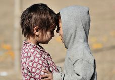 Nepali-Kinder lizenzfreies stockfoto