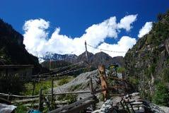 Nepali landsacpe Stock Images
