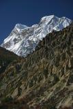 Nepali mountain. Near Annapurna peak Stock Photography