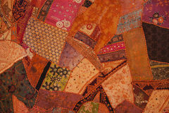 Nepali patchwork kathmandu valley Stock Photo