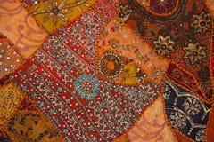 Nepali patchwork kathmandu valley Royalty Free Stock Photos
