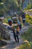 Nepali porters Royalty Free Stock Photography