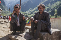 Nepali Sherpas Stock Photography