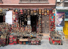 Nepali souvenirs Royalty Free Stock Photo