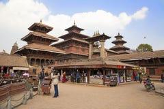 Nepali-Tempel von Patan Stockfotos
