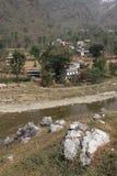 Nepali village Stock Images