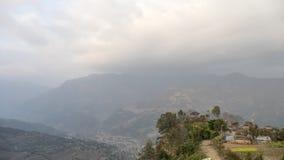 Nepali village Stock Photos