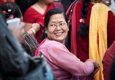 Nepali woman Royalty Free Stock Photography