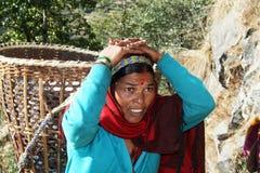 Nepali women royalty free stock images