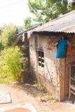 Nepalibauernhaus lizenzfreies stockfoto