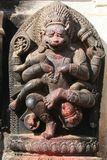 Nepalise God Bhairab Royalty Free Stock Photography