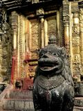 Nepalitempelingång Arkivbilder