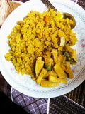Nepalivoedsel Puwa royalty-vrije stock foto's