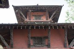 Nepalska świątynia w Varanasi Obrazy Royalty Free