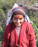 Nepalska kobieta Obrazy Stock