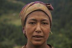 Nepalska kobieta Obraz Stock