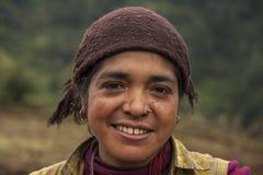 Nepalska kobieta Zdjęcie Royalty Free