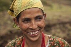 Nepalska kobieta Obraz Royalty Free