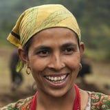 Nepalska kobieta Fotografia Stock