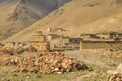Nepalska stara wioska Zdjęcia Royalty Free