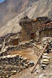 Nepalska stara wioska Fotografia Royalty Free