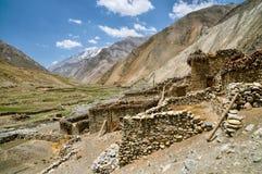 Nepalska stara wioska Zdjęcie Stock
