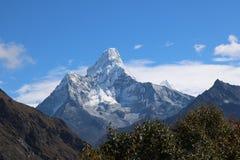 Nepalski Halny Ama Dablam jest górą w himalaje pasmie Zdjęcie Stock