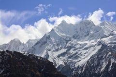 Nepalski krajobraz obraz royalty free