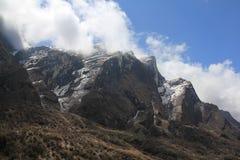 Nepalski krajobraz zdjęcia royalty free