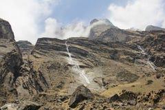Nepalski krajobraz obrazy royalty free
