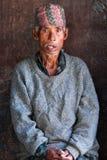 Nepalski mężczyzna w Bhaktapur Obrazy Stock