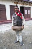Nepalski podczas jeden festiwale Fotografia Stock
