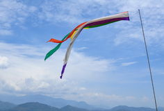 Nepalski Windsock Fotografia Stock