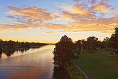 Nepean River Penrith Stock Images