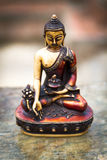 Neplease Sculpture of Budhha Royalty Free Stock Photos