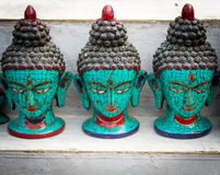 Neplease Sculpture of Budhha Royalty Free Stock Photography