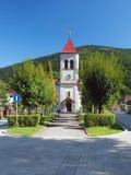 Nepomuk圣约翰教会  免版税库存照片