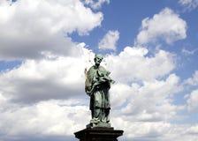 Nepomuk的圣约翰 库存照片
